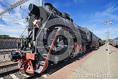 Steam train. USSR.