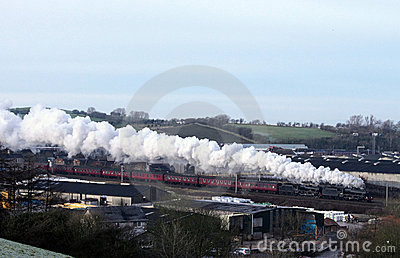 Steam Trains Double Headed Black Fives, Carnforth