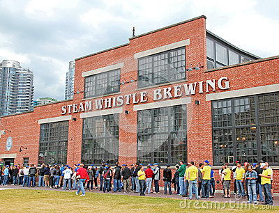 Steam Whistle Brewing Editorial Photo