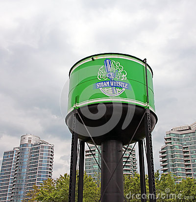 Steam Whistle Brewing Logo Editorial Stock Image
