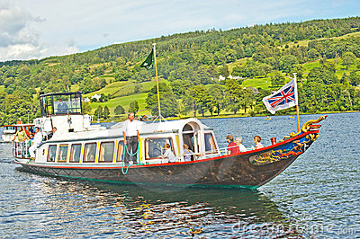 Steam Yacht Gondola: S Y Gondola. Editorial Stock Image