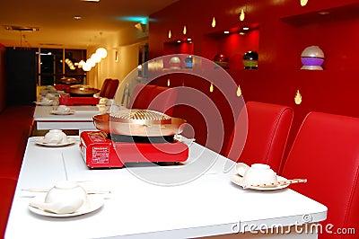 Steamboat Restaurant Elegant Interior Design