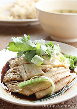 Free Steamed Chicken Stock Image - 16267441