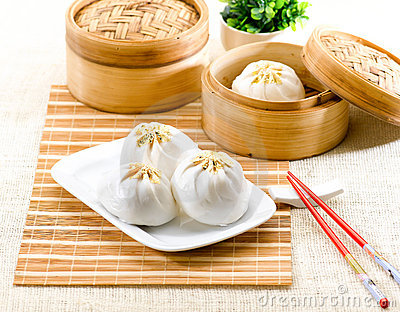Steamed dumpling Chinese style food