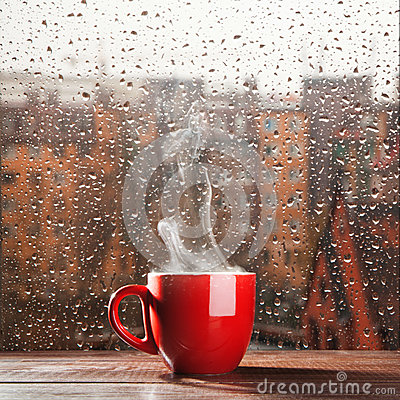 Free Steaming Coffee Cup Stock Photography - 35048182