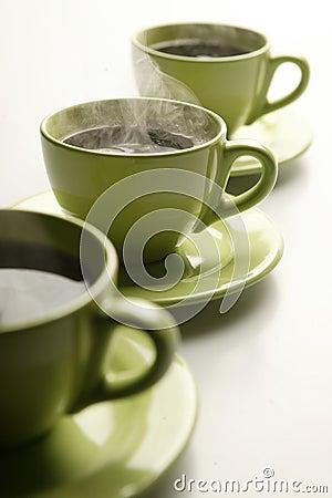 Steaming mugs 2