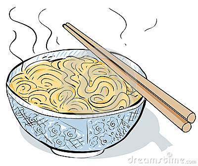 Steaming Noodles Royalty Free Stock Images - Image: 34839869