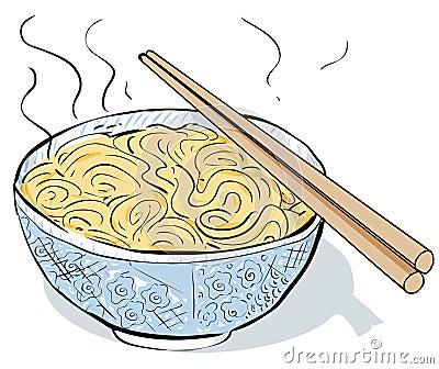 Noodles Clipart Black ...