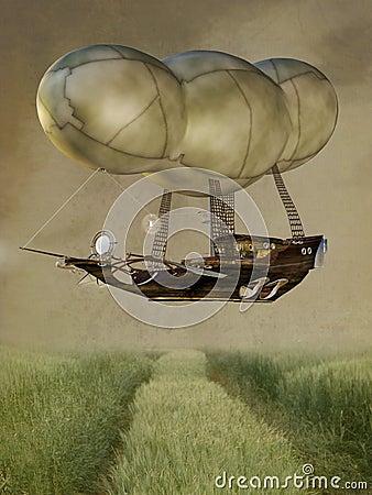 Steampunk baloon