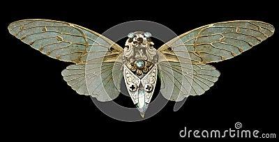 Steampunk Cicada