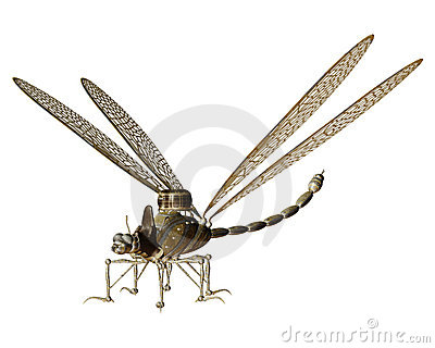 Steampunk flying machine 7
