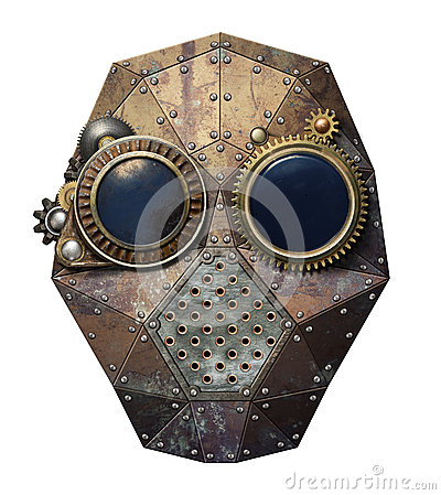 Free Steampunk Glasses Royalty Free Stock Photo - 47356165