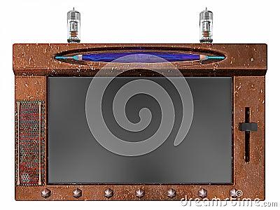 Steampunk Internet tablet