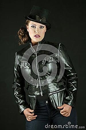Steampunk Style Woman