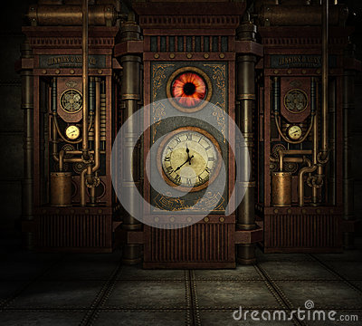 Free Steampunk Time Stock Photography - 42664112