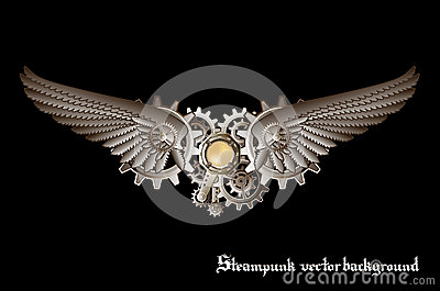 Steampunk Wings Royalty Free Stock Photo - Image: 34746235