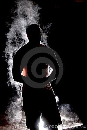 Free Steamy Sillouette Stock Images - 4430524