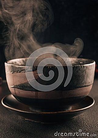 Free Steamy Soup Bowl Stock Image - 35402861