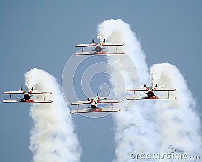 Stearman bi-planes inverted