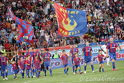 Steaua Bucharest Editorial Photo