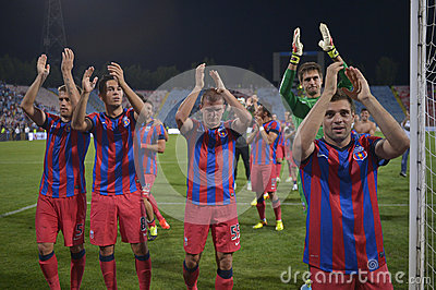 Steaua Bucharest - CFR Cluj Editorial Stock Image