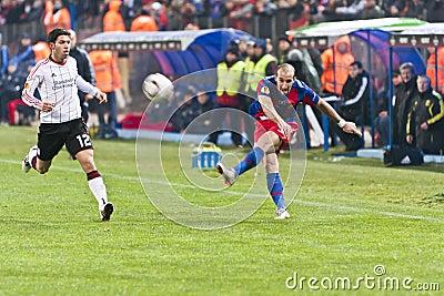Steaua Bucharest - Liverpool FC (EUROPA LEAGUE) Editorial Photography
