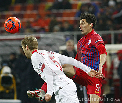 Steaua Bucharest- Twente Editorial Stock Image