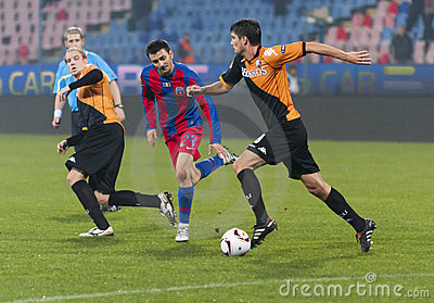 Steaua Bucharest - Utrecht (EUROPA LEAGUE) Editorial Photo