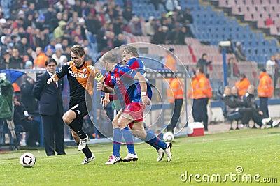 Steaua Bucharest - Utrecht (EUROPA LEAGUE) Editorial Image