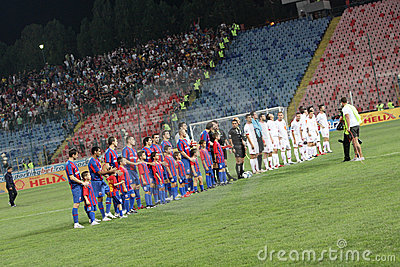 Steaua - Dinamo Editorial Photography