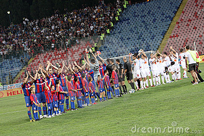 Steaua vs. Dinamo Editorial Image