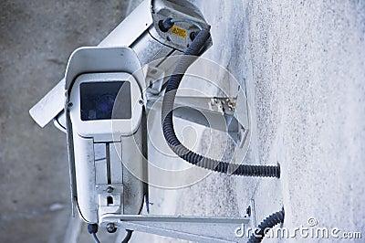 Stedelijke video en veiligheidscamera