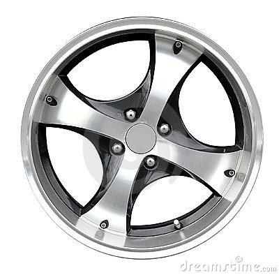 Steel alloy car rim