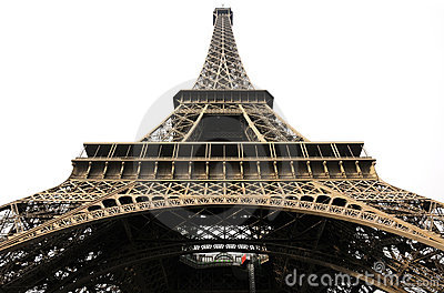 Steel architecture of eiffel tower