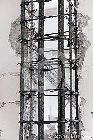 Steel Armature Column