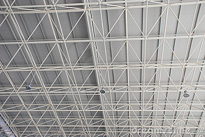 The steel beam and truss