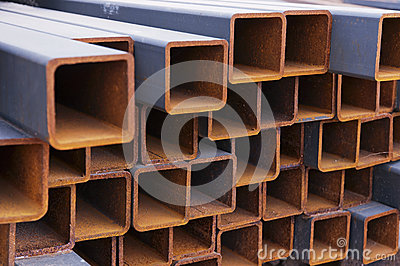 Steel Beams Stock Photography - Image: 24708502