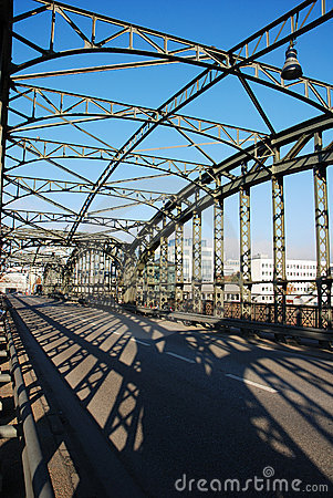 Free Steel Bridge And Shadows Royalty Free Stock Images - 1967869