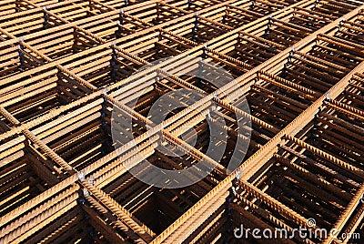 Steel building armature
