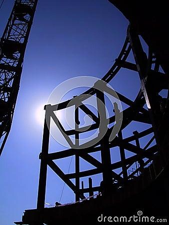 Steel building beams