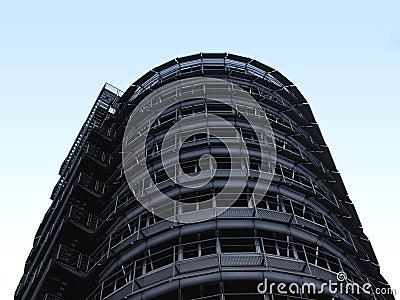 Steel Building in the Sky