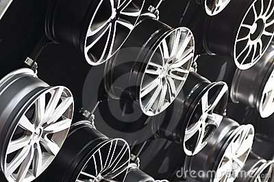 Steel car rims