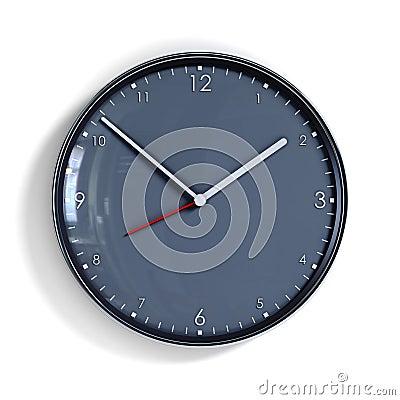 Steel clock