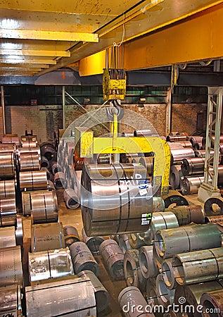 Steel Coil Crane