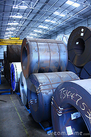 Steel Coils Warehouse