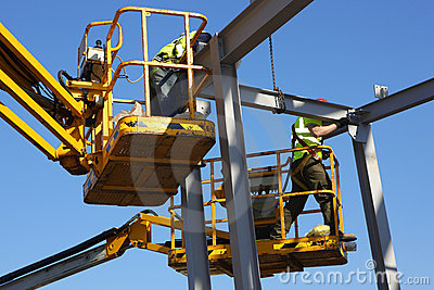Steel Construction Workers