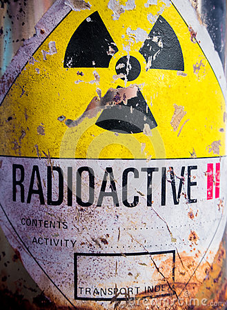 Free Steel Container Of Radioactive Material Royalty Free Stock Image - 94307336