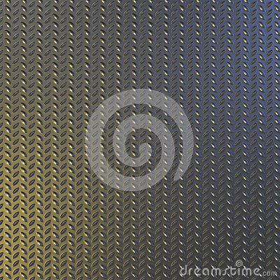 Steel diamond pattern plate background