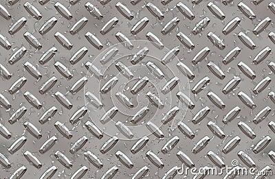 Steel diamond plate background