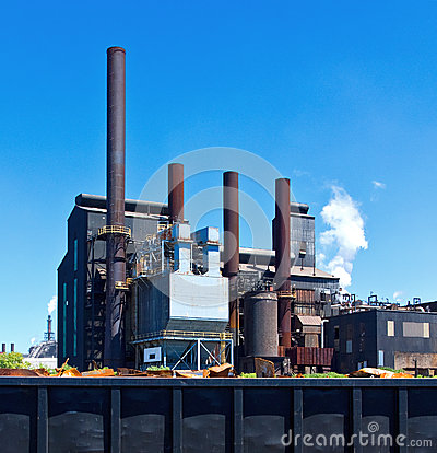 Free Steel Factory Royalty Free Stock Photography - 25882077
